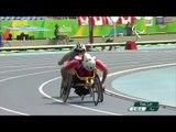 Athletics | Men's 1500m - T52 Final  | Rio 2016 Paralympic Games