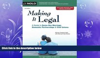 book online  Making It Legal: A Guide to Same-Sex Marriage, Domestic Partnerships   Civil Unions