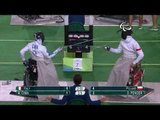 Wheelchair Fencing | POL v ITA | Men's Team Epee - Third match | Rio 2016 Paralympic Games