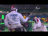 Wheelchair Fencing   FRA v POL   Men's Team Epee - Semi finals   Rio 2016 Paralympic Games