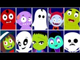 Scary Nursery Rhymes | Ten In The Bed | Rhymes For Kids And Childrens | Songs For Babies