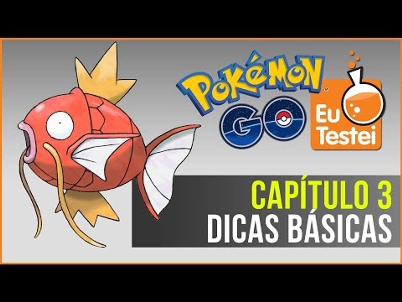Dicas básicas pra jogar Pokémon Go - Série EuTestei Pokémon Go