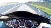 ZX-10R Max Speed 280 km/h    ZX-10R test speed trên lộ