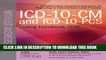 [PDF] ICD-10-CM and ICD-10-PCS Coding Handbook, without Answers, 2016 Rev. Ed. Full Collection