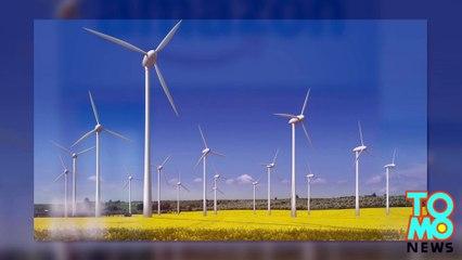 Amazon construit un gigantesque parc éolien de 100 turbines au Texas