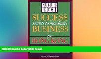 Big Deals  Success Secrets to Maximize Business in Hong Kong (Culture Shock!)  Full Read Best Seller