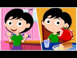 daily routines song | original song | nursery rhymes | kids songs | childrens rhymes