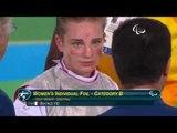 Wheelchair Fencing | VIO v YAO | Women's Individual Foil Cat B 1/2F | Rio 2016 Paralympic Games