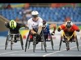 Athletics   Men's 800m - T54 Round 1 Heat 1   Rio 2016 Paralympic Games