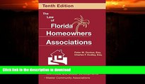 READ  The Law of Florida Homeowners Associations (Law of Florida Homeowners Associations