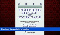 READ THE NEW BOOK Federal Rules of Evidence: With Advisory Committee Notes and Legislative