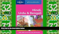 Must Have PDF  Hindi, Urdu   Bengali: Lonely Planet Phrasebook  Best Seller Books Most Wanted