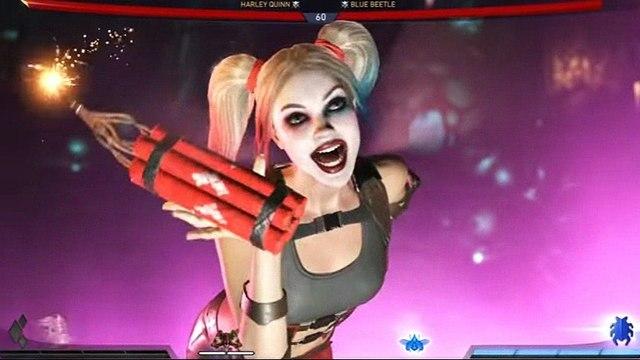 Injustice 2 - Harley quinn All IntrosOutros