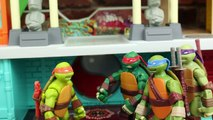 Teenage Mutant Ninja Turtles Go Bowling with TMNT Bowling Pins and Bowling Ball