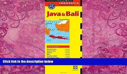 Java /& Bali Travel Map Fourth Edition
