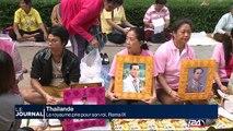 Thaïlande : le royaume prie pour son roi, Rama IX
