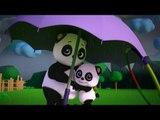 bao panda | rain rain go away | 3d rhymes | nursery rhymes | kids songs