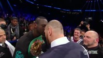Deontay Wilder and Tyson Fury Exchange Words _ SHOWTIME CHAMPIONSHIP BOXING-JL7h72NigqE