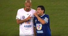 Barış Maçında Maradona-Veron Kavgası Çıktı