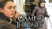 ARYA STARK First Images From Game of Thrones Season 7 | Maisie Williams