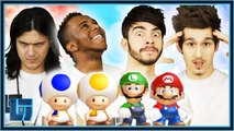 iLukas & Razzbowski V Mantrousse & FIFAMonstah - Super Mario Bros : 2v2 | Legends of Gaming