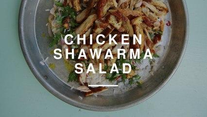 Michal Ansky - Chicken Shawarma Salad | Gizzi Erskine | Wild Dish