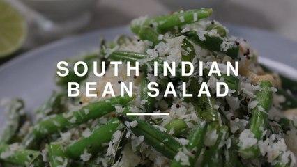 South Indian Green Bean Salad w Ravinder Bhogal | Gizzi Erskine | Wild Dish