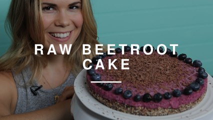 Raw Beetroot Cake | Madeleine Shaw | Wild Dish