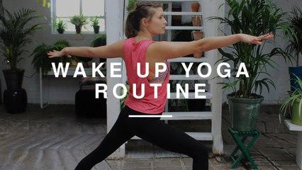 Wake Up Yoga Routine | Annie Clarke | Wild Dish