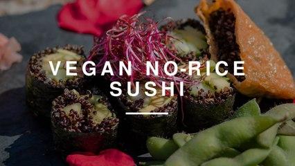 Vegan No Rice Sushi w Anne-Marie | Madeleine Shaw | Wild Dish