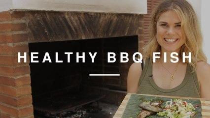 BBQ Fish with Asian Salad | Madeleine Shaw | Wild Dish