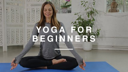 Yoga for Beginners - 20 minute Workout | Danielle Hayley | Wild Dish