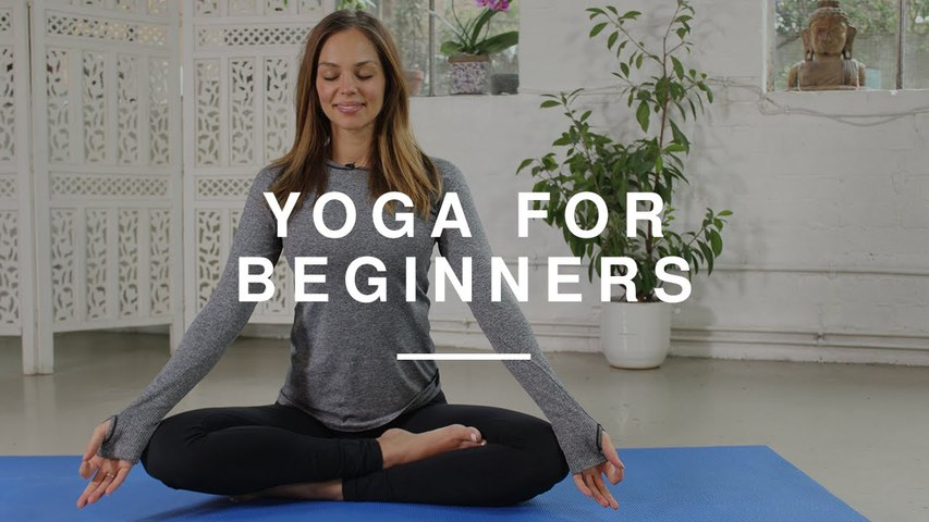 Yoga for Beginners - 20 minute Workout   Danielle Hayley   Wild Dish