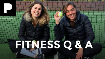 Madeleine Shaw  and Miquita Oliver Fitness Q&A