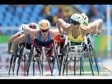 Athletics   Men's 800m - T53 Round 1 Heat 1   Rio 2016 Paralympic Games