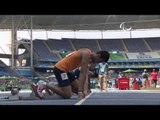Athletics | Men's 100m - T12 Round 1 Heat 1 | Rio 2016 Paralympic Games