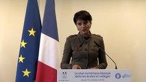 [ARCHIVE] Plan numérique pour l'Éducation : discours de Najat Vallaud-Belkacem