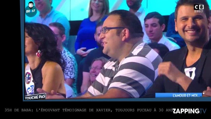 Cyril Hanouna – 35H: L'émouvant témoignage  de Xavier, toujours puceau à 30 ans (Vidéo)