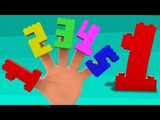 Numbers Finger Family | Lego Numbers 123 | Numbers Song | Learn Numbers | Kids Songs | Baby Videos