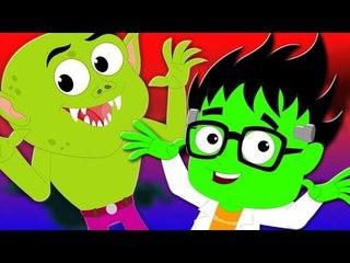 make a monster | original nursery rhymes | kids songs | scary rhymes | halloween song