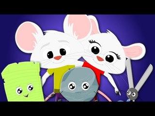 rock paper scissors song | nursery rhymes | kids songs | baby videos