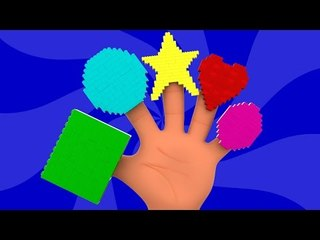 Shapes Finger Family | Learn Shapes | Nursery Rhymes For Kids And Childrens | Shapes Song