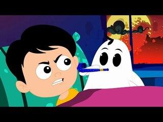 naughty ghost in my home | scary rhyme | nursery rhymes | halloween song