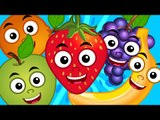Fruits Song | Learn Fruits | Nursery Rhymes | Kids Songs | Baby Videos