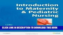 [PDF] Introduction to Maternity   Pediatric Nursing 6th (sixth) edition Popular Colection