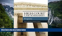 READ NOW  High Court Case Summaries, Property (Keyed to Dukeminier)  Premium Ebooks Online Ebooks