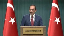 """Kalın: """"Türkiye-Rusya Ilişkilerinin Normalleşmesiyle Ilgili Önemli Bir Süreç Yaşıyoruz"""""""