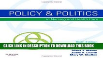 [PDF] Policy   Politics in Nursing and Health Care, 6th Edition Full Colection