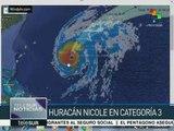 Huracán Nicole sube a categoría 3 y amenaza las Bermudas
