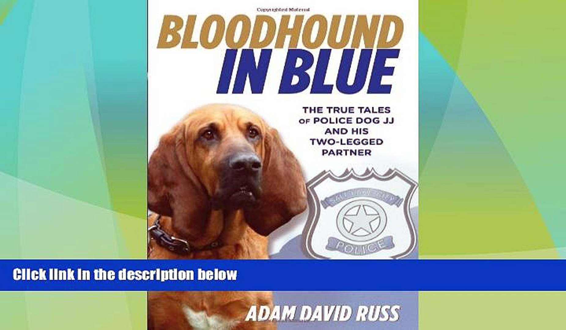 EBOOK ONLINE  Bloodhound in Blue: The True Tales Of Police Dog Jj And His Two-Legged Partner READ